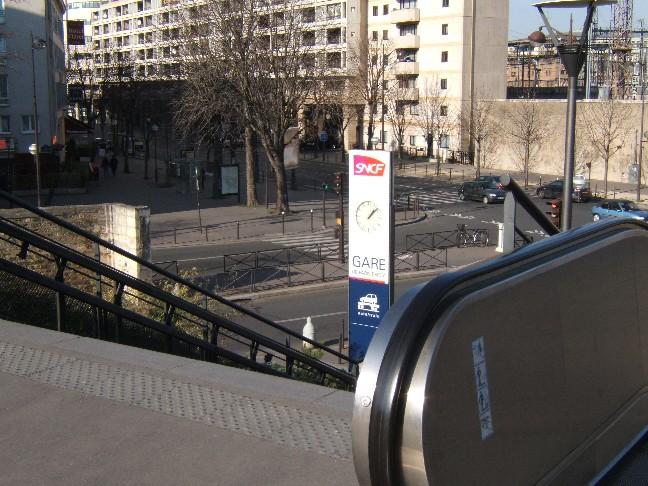 quelques photos de la gare de bercy forum sadur